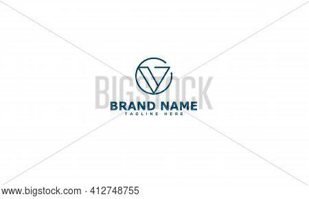 Vg Logo Design Template Vector Graphic Branding Element.