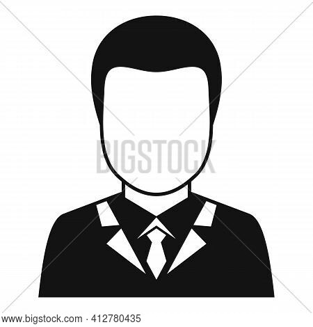 Purchasing Manager Icon. Simple Illustration Of Purchasing Manager Vector Icon For Web Design Isolat