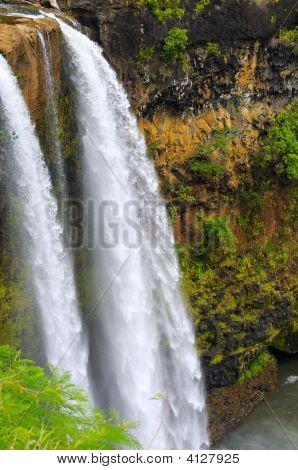 Wailua Falls Up Close