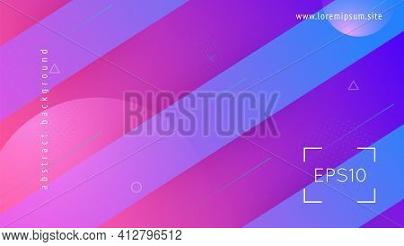 Liquid Shape. Minimal Layout. Flow Abstract Background. Business