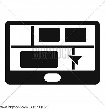 Booking Trip Icon. Simple Illustration Of Booking Trip Vector Icon For Web Design Isolated On White