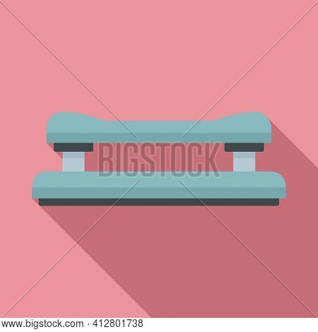 Hole Perforator Icon. Flat Illustration Of Hole Perforator Vector Icon For Web Design
