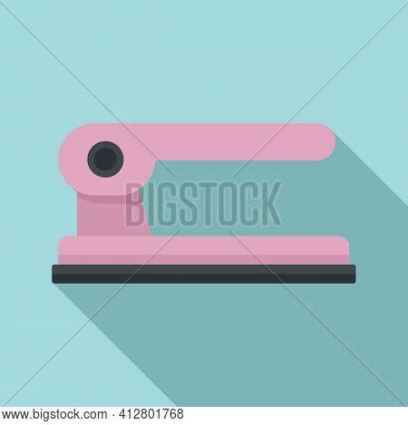 Hole Punch Stapler Icon. Flat Illustration Of Hole Punch Stapler Vector Icon For Web Design