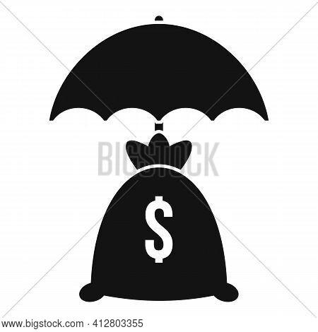 Economic Crisis Icon. Simple Illustration Of Economic Crisis Vector Icon For Web Design Isolated On
