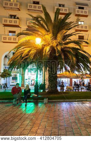 Thessaloniki, Greece - October 11, 2016: Aristotelous Square Is The Main City Square Of Thessaloniki
