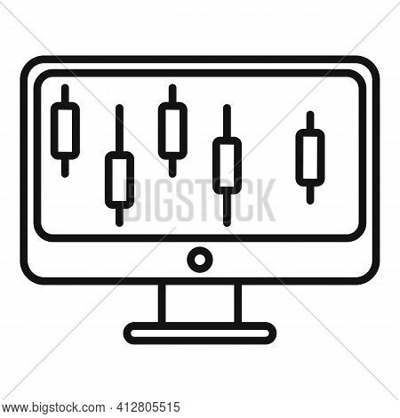 Technical Restructure Icon. Outline Technical Restructure Vector Icon For Web Design Isolated On Whi