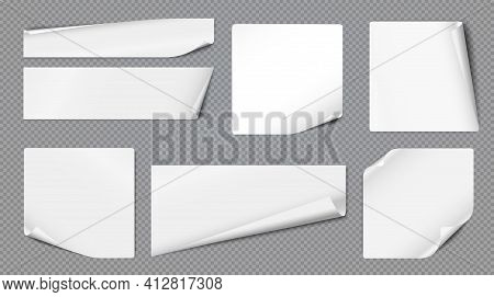 White Folded Horizontal Note, Notebook Paper Are On Dark Grey Background For Text, Advertising Or De
