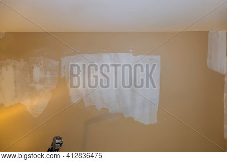 Renovation Home Improvement Apartment Wall Repair Remodeling Old Walls, Plasterboard Drywall For Gyp