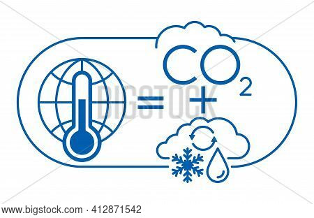 Climate Sensivity Diagram - Determine Factors That Changing Climate After Increasing Co2 Levels, An