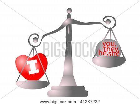 Scales Of Egoist
