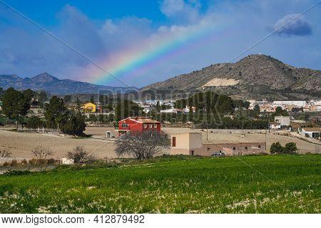 Beautiful Landscape In Calasparra, Murcia Region In Spain, Europe