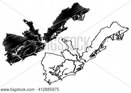 Charleston County, State Of South Carolina (u.s. County, United States Of America, Usa, U.s., Us) Ma