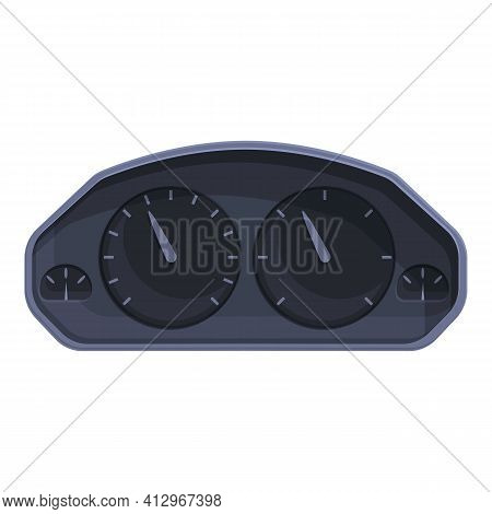 Car Classic Dashboard Icon. Cartoon Of Car Classic Dashboard Vector Icon For Web Design Isolated On