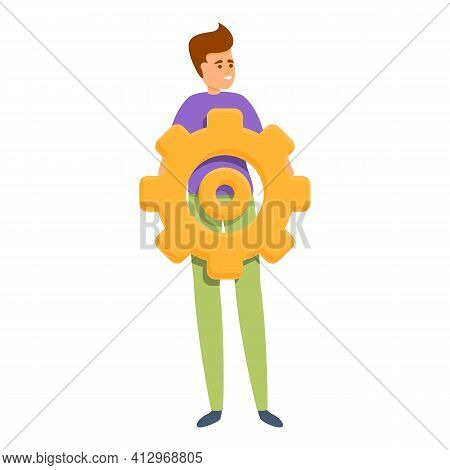 Technical Interaction Icon. Cartoon Of Technical Interaction Vector Icon For Web Design Isolated On