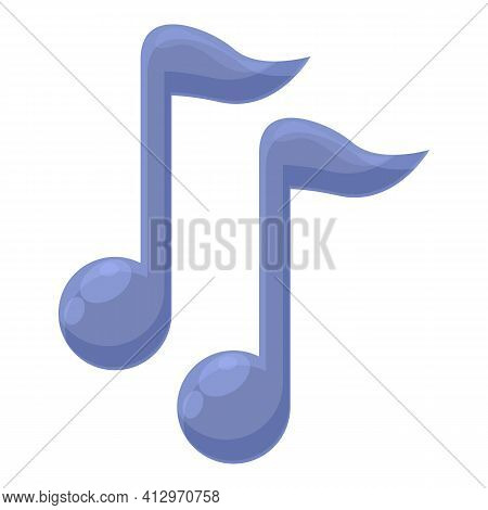 Listen Music Icon. Cartoon Of Listen Music Vector Icon For Web Design Isolated On White Background