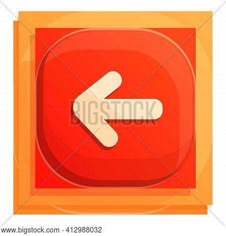 Backyard Interface Button Icon. Cartoon Of Backyard Interface Button Vector Icon For Web Design Isol