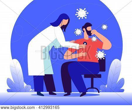World Tuberculosis Day Illustration Concept Vector, International Tuberculosis Day