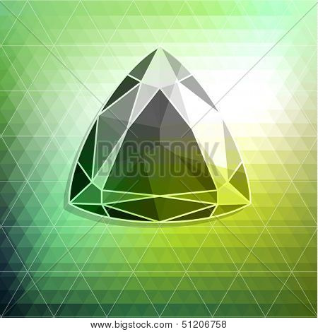 Abstract diamond background - raster version