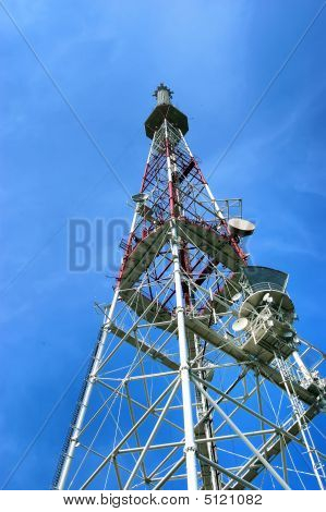 Tower For Cellular Communication Aerials