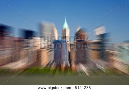Lower Manhattan- Zoom Effect