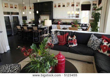 Luxury home Wohnzimmer.