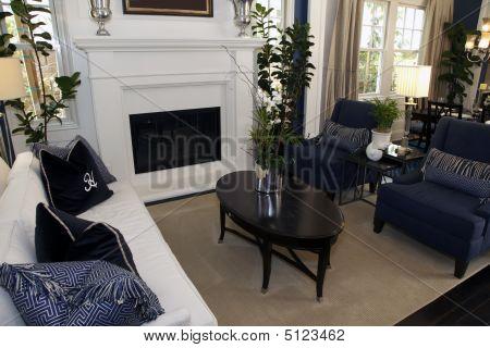 zeitgenössische Wohnzimmer