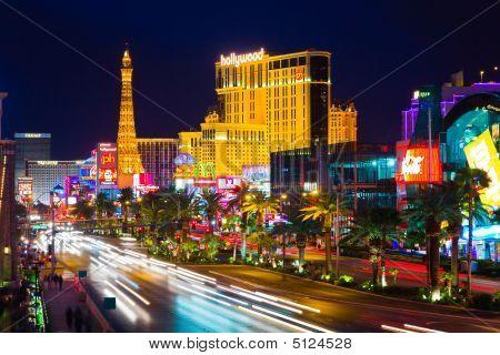 Las Vegas en la noche