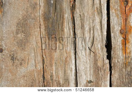 Wooden Flooring From Old Boards