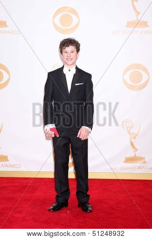 LOS ANGELES - SEP 22:  Nolan Gould at the  at Nokia Theater on September 22, 2013 in Los Angeles, CA