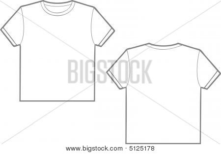 T Shirt In White