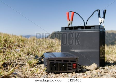 Battery In The Outdoors