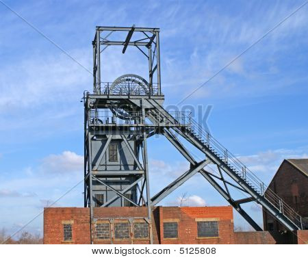 Coal Mine Winding Gear
