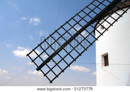 Windmill Blade Detail