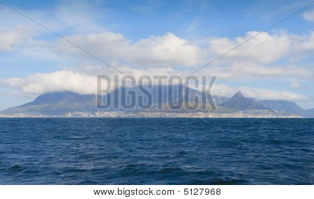 Table Mountain View From Boat