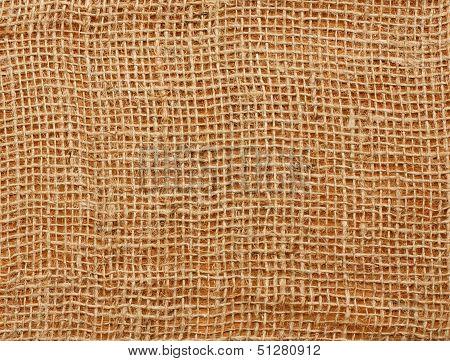 Close Up Of A Jute Bag