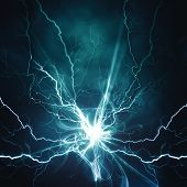 Electric lighting effect abstract techno backgrounds for your design poster