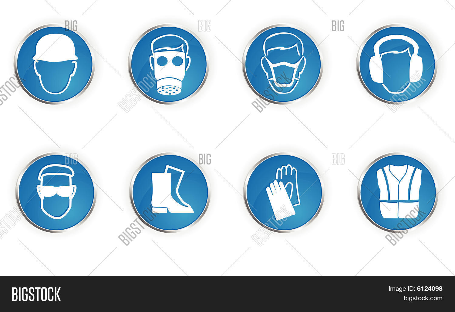 Hazard Symbols Vector Photo Free Trial Bigstock
