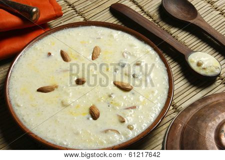Top Close up View of Kheer Mohans is a Bengali sweet. poster