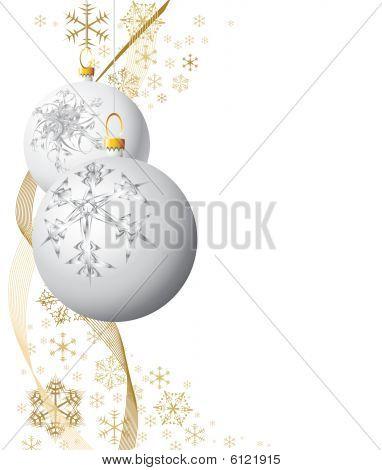 Weiße Weihnachten-Lampen