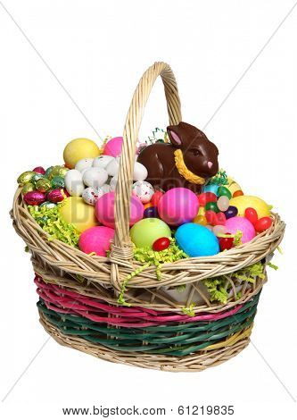 Easter Basket full of Easter Treats