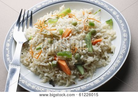 Vegetable Biryani - A popular Indian veg dish