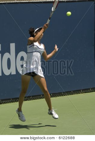 Countrywide Classic Teen Tennis Player