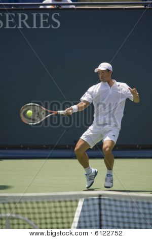 Hyung-Taik Lee at the L.A. Open