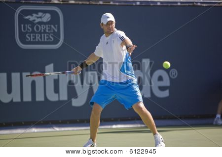 Mardy Fish at the Los Angeles Tennis Open