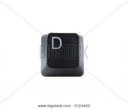 Keyboard Letter D