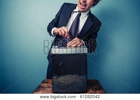 Clumsy Businessman