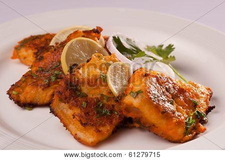 Spicy Fish Tikka from India