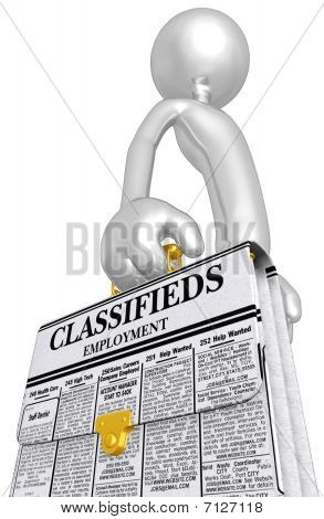 Employment Classifieds Briefcase
