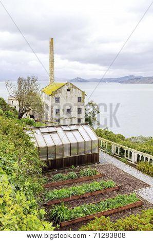 Alcatraz Garden & Power House, San Francisco, California