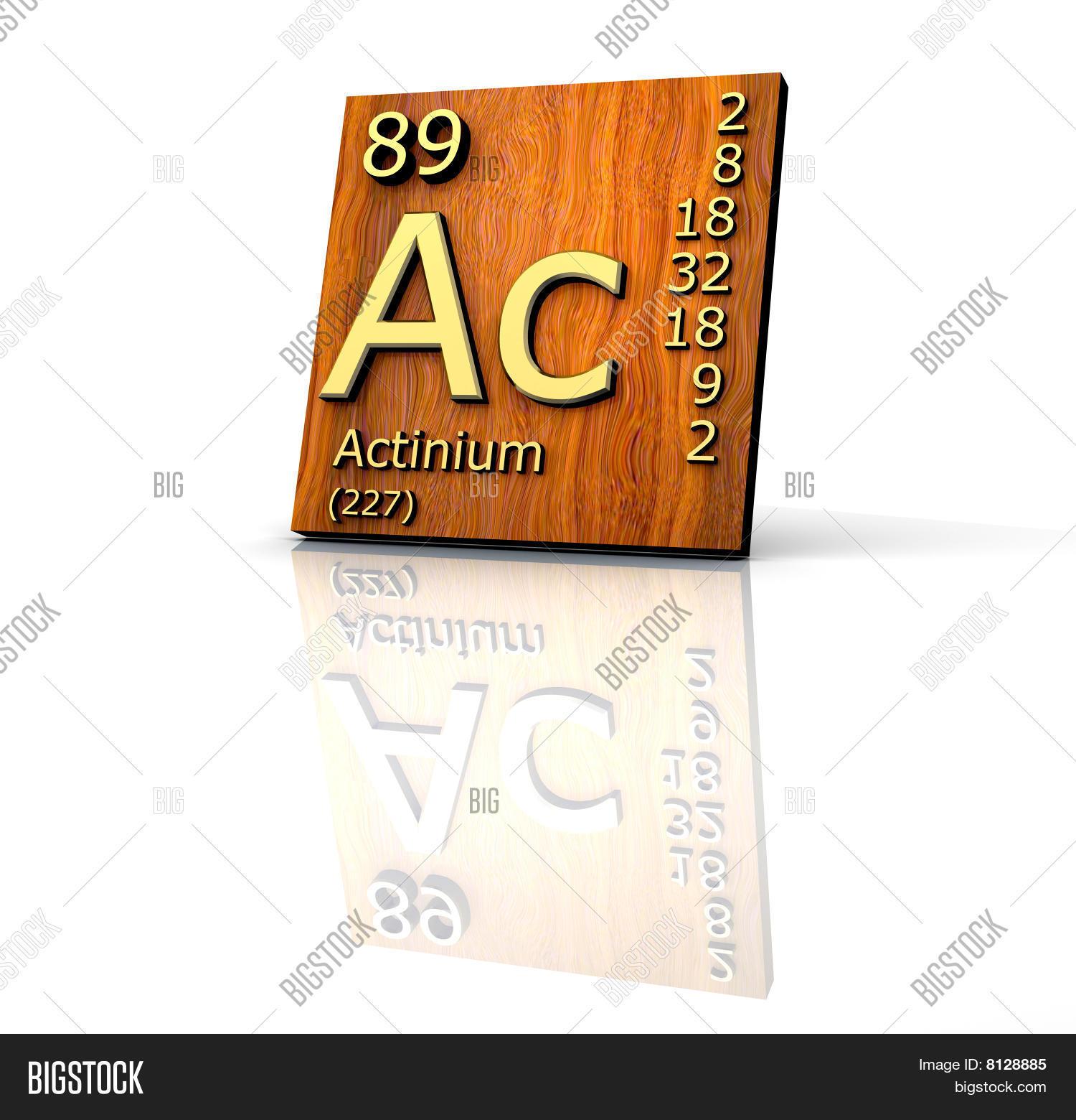 Actinium Form Periodic Image Photo Free Trial Bigstock